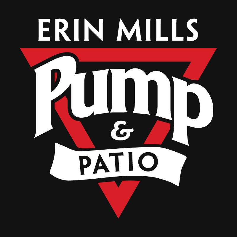 The Erin Mills Pump & Patio Logo