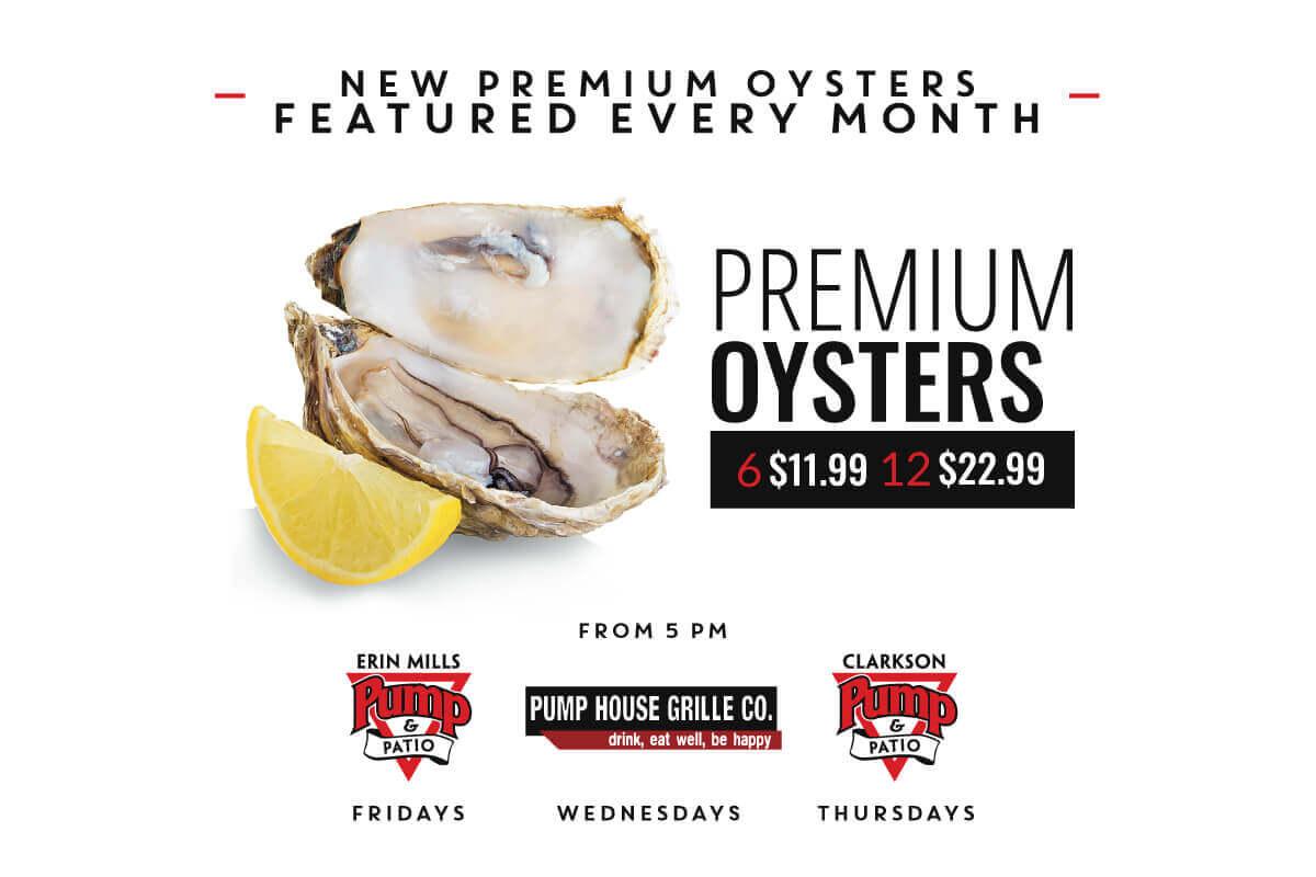 Premium Oyster Night